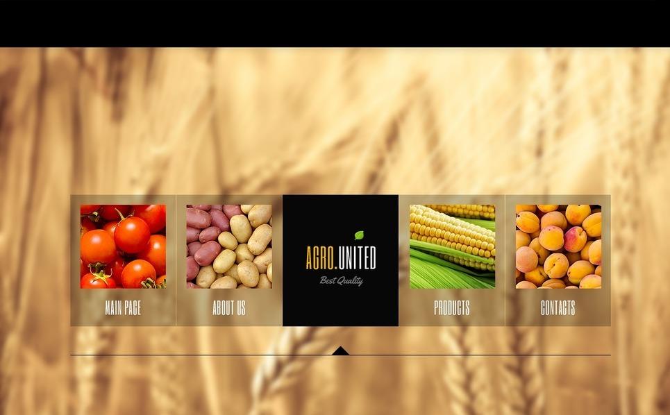 Modello Siti Web  #42836 per Un Sito di Agricoltura New Screenshots BIG