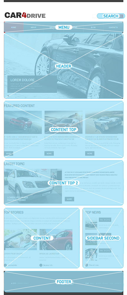 Drupal Template 42848 Main Page Screenshot