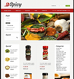 Food & Drink VirtueMart  Template 42864