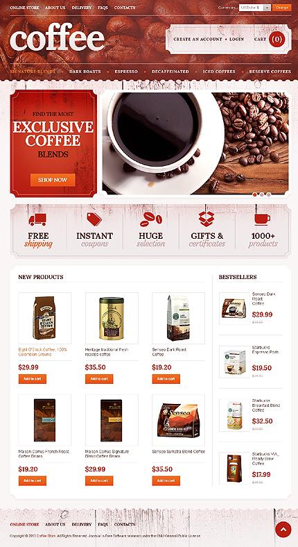 ADOBE Photoshop Template 42865 Home Page Screenshot