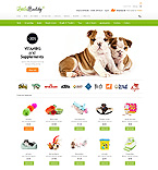 Animals & Pets osCommerce  Template 42867