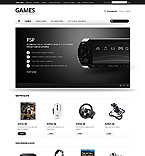 Games osCommerce  Template 42869