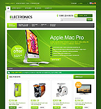Electronics osCommerce  Template 42871