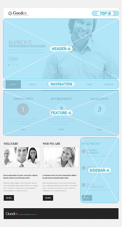 Joomla Theme/Template 42886 Main Page Screenshot