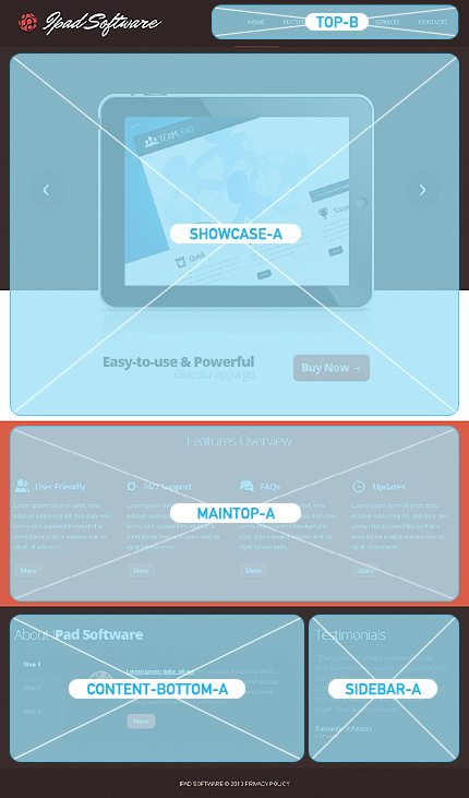 Joomla Theme/Template 42888 Main Page Screenshot