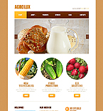 Agriculture Website  Template 42889