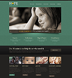 Charity Website  Template 42893