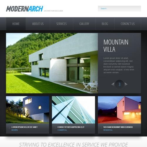 Mordernarch - Drupal Architecture Template