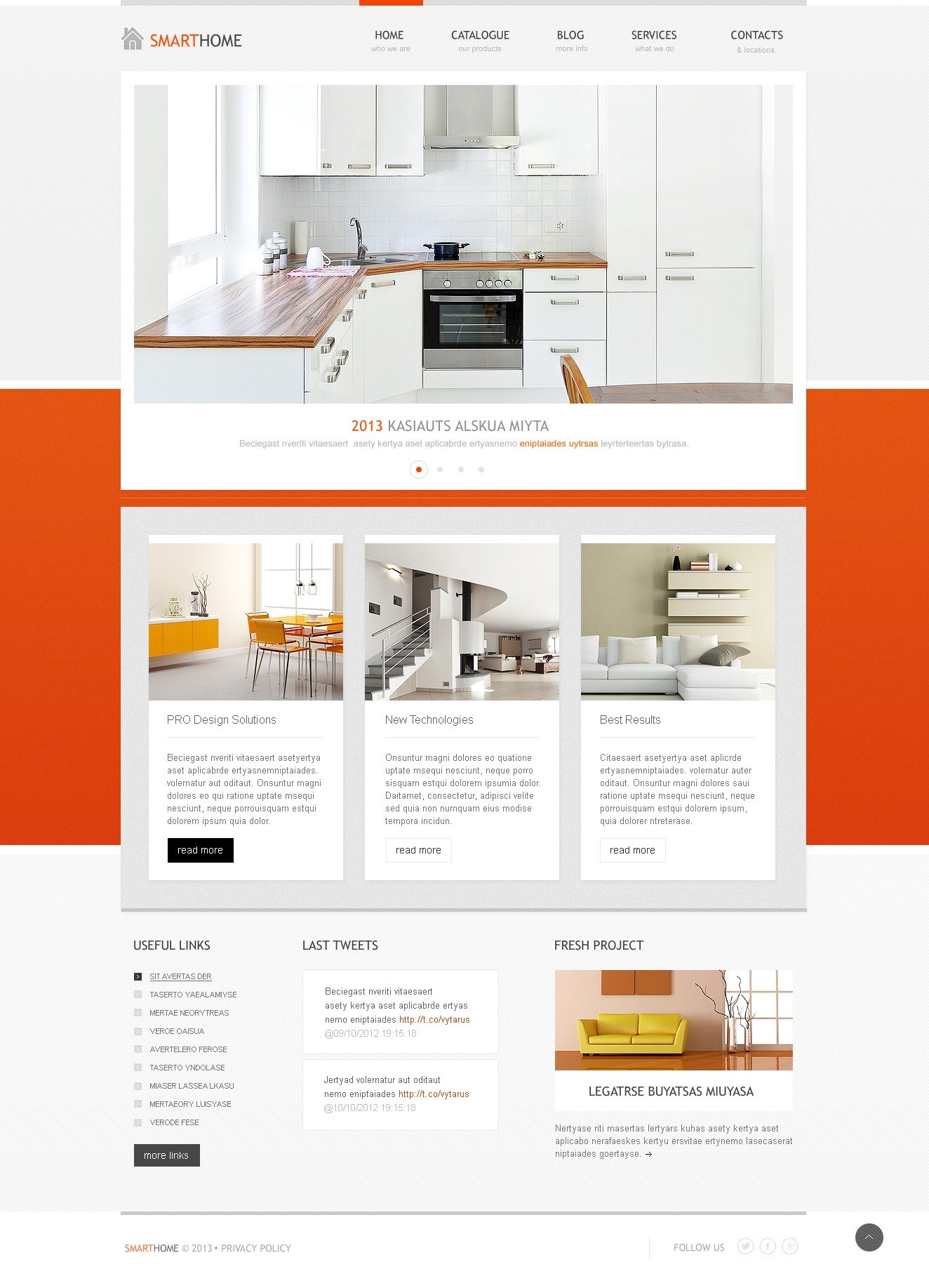 Elegant Interior WordPress Theme