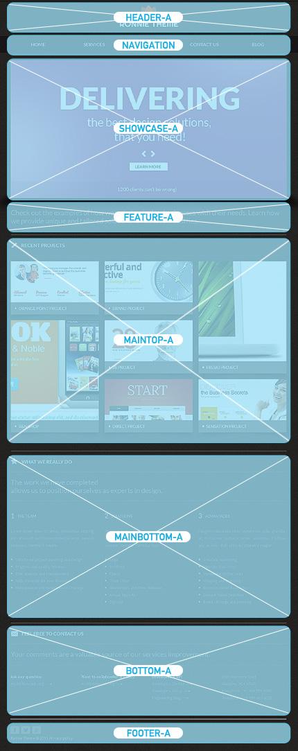 Joomla Theme/Template 42903 Main Page Screenshot