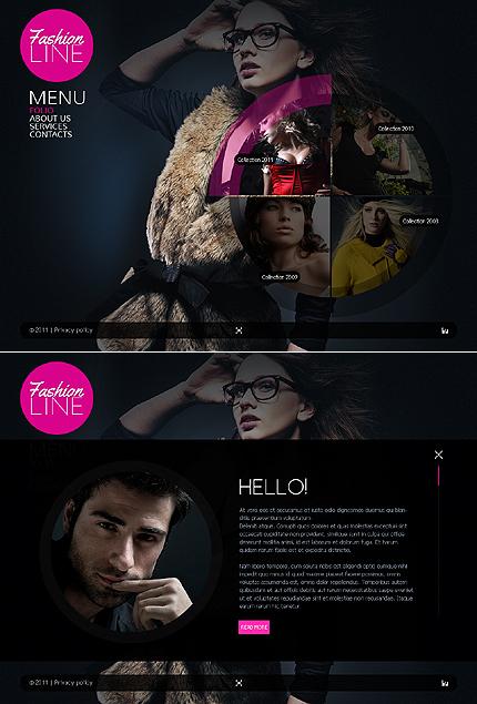 ADOBE Photoshop Template 42910 Home Page Screenshot