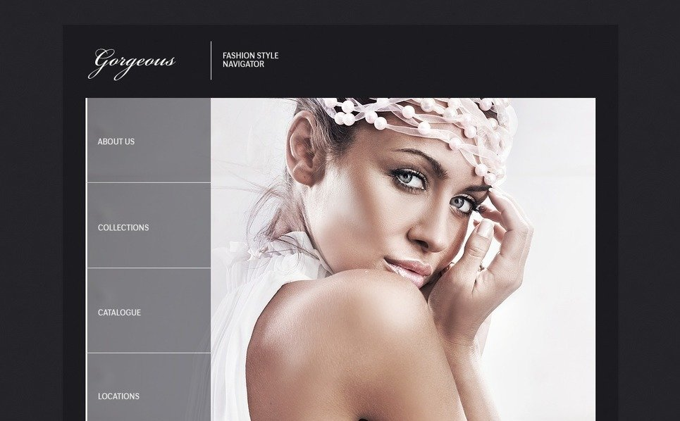 Template Flash CMS para Sites de Moda №42914 New Screenshots BIG