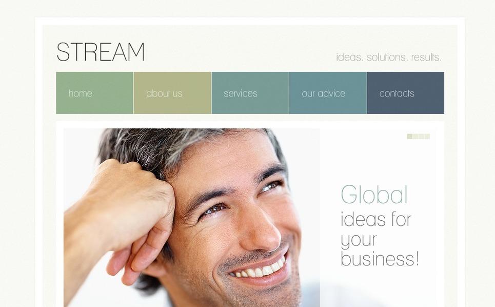 Plantilla Flash CMS #42915 para Sitio de Negocio y Servicios New Screenshots BIG