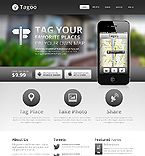 Software Website  Template 42917
