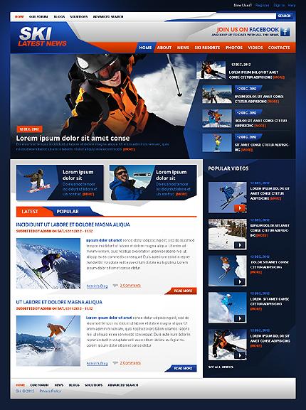 Drupal Template 42924 Main Page Screenshot
