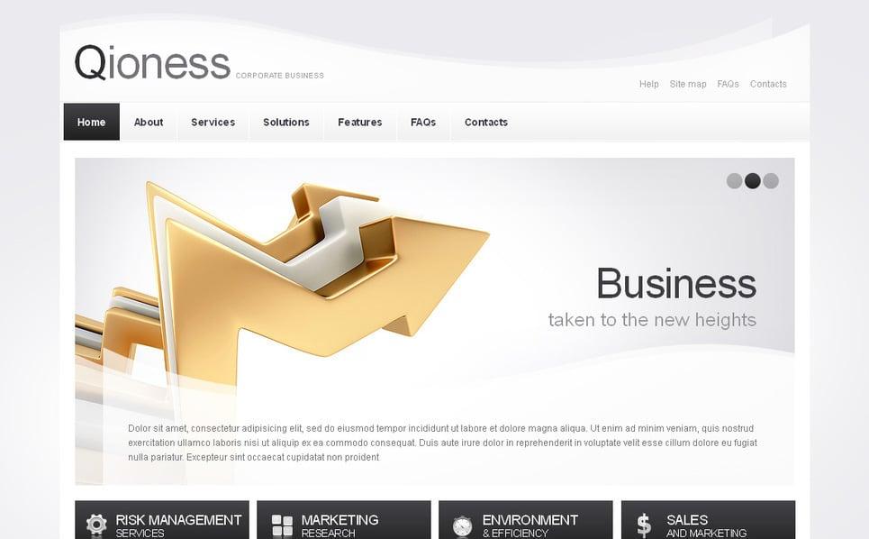 Luxusní Moto CMS HTML šablona na téma Správcovské společnosti New Screenshots BIG