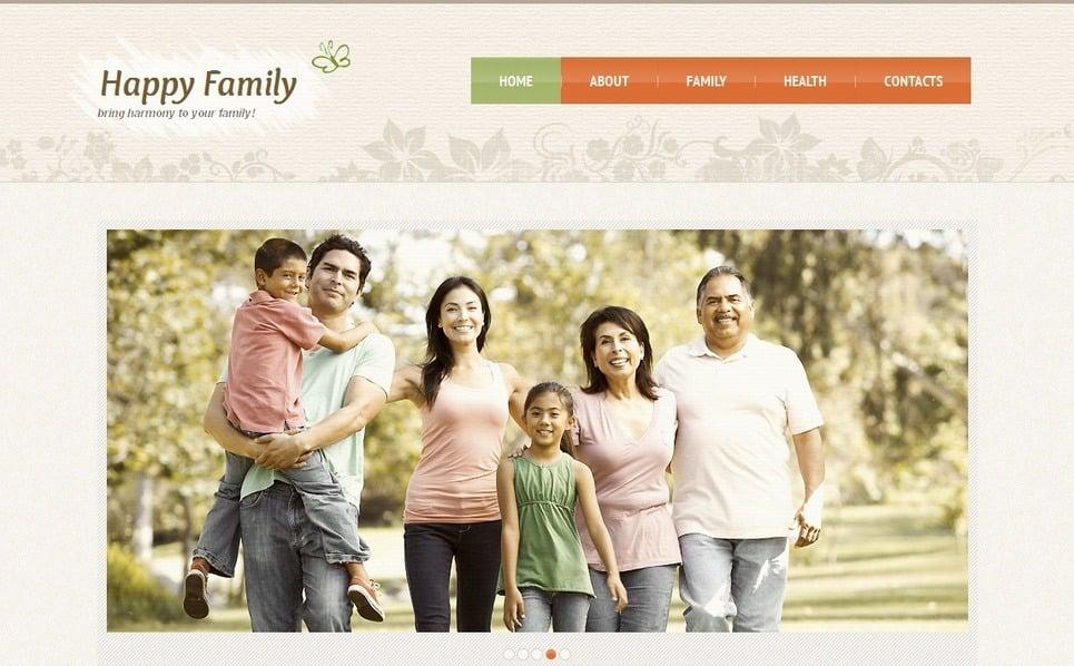 Plantilla Moto CMS HTML #42945 para Sitio de Familia New Screenshots BIG