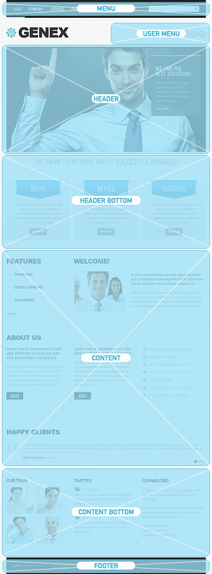 Drupal Template 42971 Main Page Screenshot