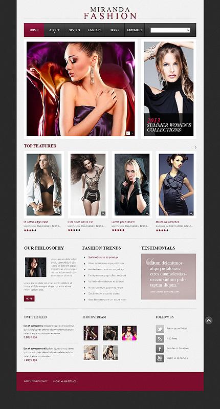 Drupal Template 42972 Main Page Screenshot