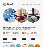 Furniture Website  Template 42974