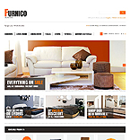 Furniture OpenCart  Template 42997
