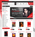 Books OpenCart  Template 42998