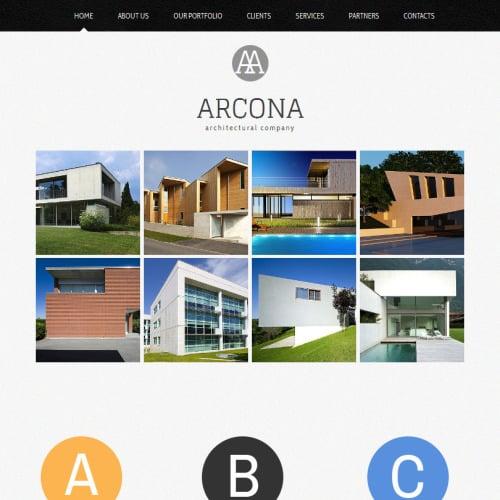 Arcona - Facebook HTML CMS Template