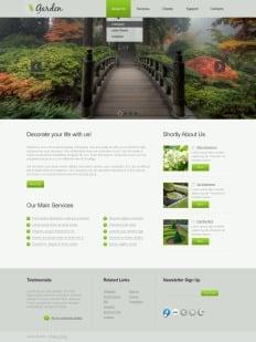 Garden Design Website Templates