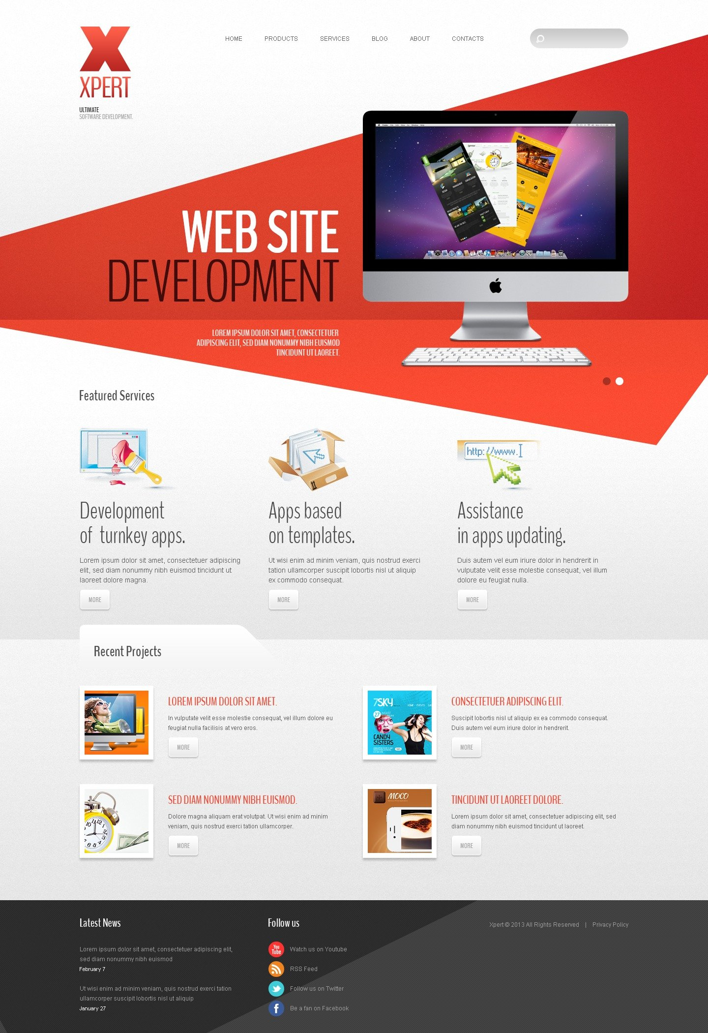 Software Company Joomla Template #42980