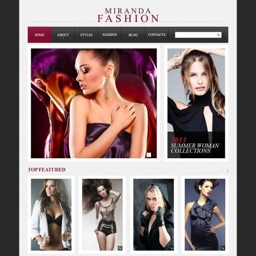 Miranda Fashion - Drupal Fashion Website Template