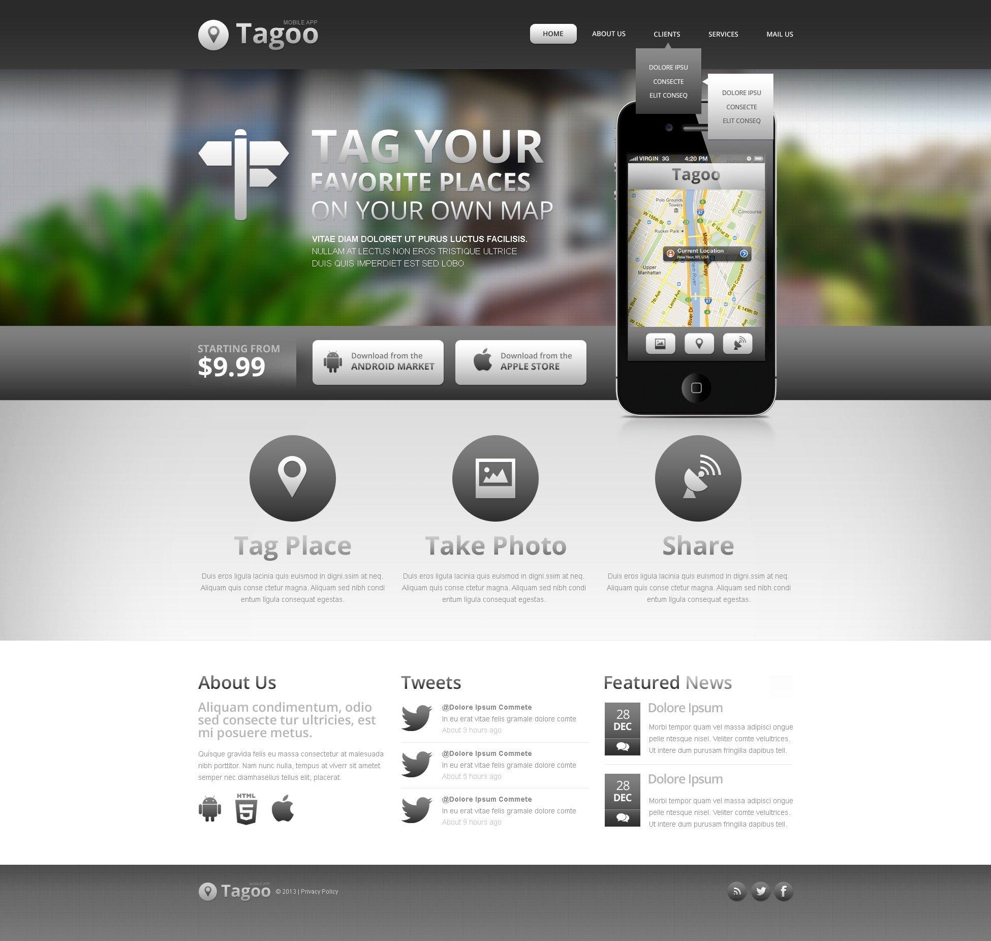 Yazılım Şirketi Web Sitesi #42917