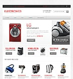Electronics OpenCart  Template 43000