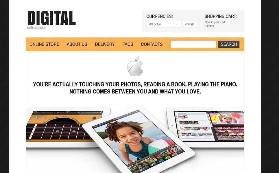 Szablon VirtueMart #43005 na temat: sklep elektroniczny New Screenshots BIG