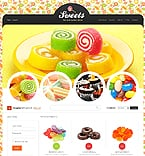 Food & Drink VirtueMart  Template 43006
