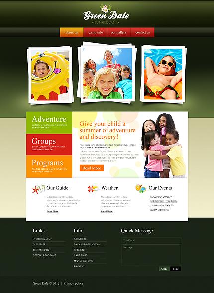 PSD макет сайта №43009
