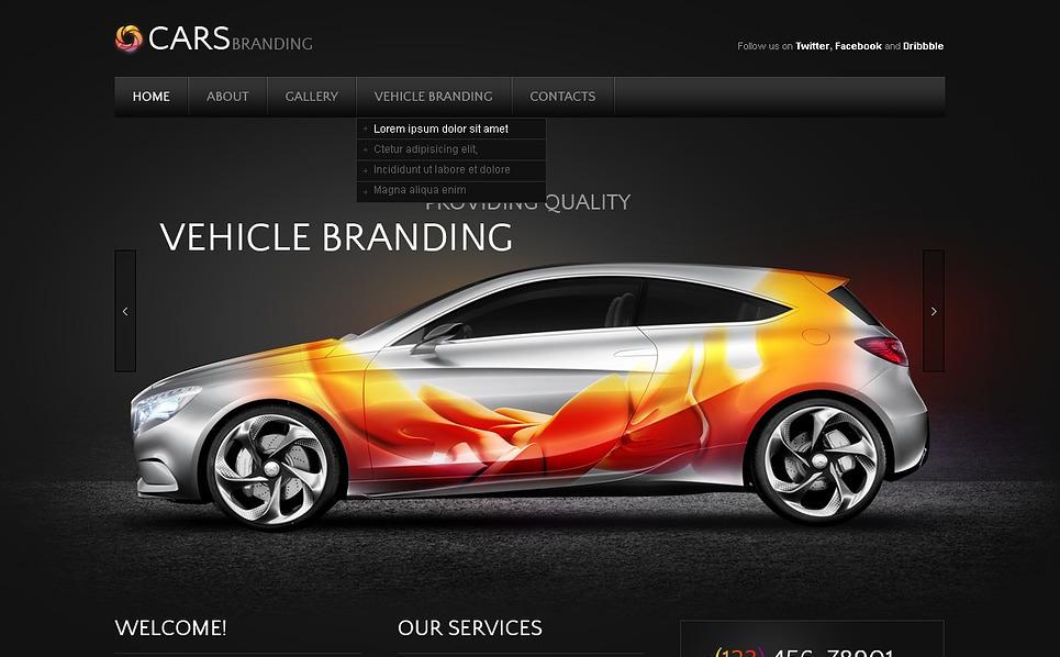 Autókereskedők PSD sablon New Screenshots BIG