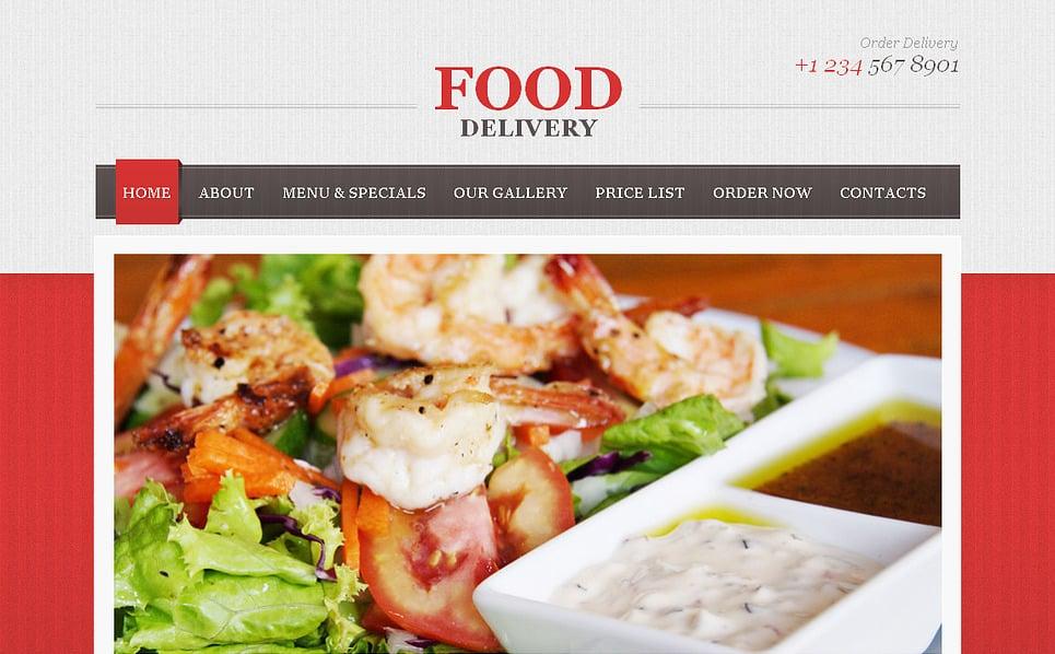 Moto CMS HTML Vorlage für Essen und Trinken  New Screenshots BIG