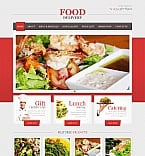 Food & Drink Moto CMS HTML  Template 43014