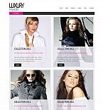 Fashion Moto CMS HTML  Template 43015