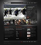 Sport Moto CMS HTML  Template 43018