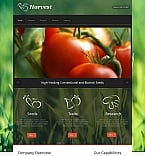 Agriculture Moto CMS HTML  Template 43025