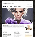Art & Photography Moto CMS HTML  Template 43029