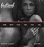 Art & Photography Facebook HTML CMS  Template 43033