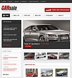 Cars Facebook HTML CMS  Template 43039