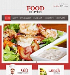 Food & Drink Facebook HTML CMS  Template 43047