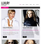 Fashion Facebook HTML CMS  Template 43051