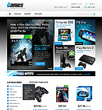 Games PrestaShop Template 43053