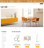 Furniture VirtueMart  Template 43071