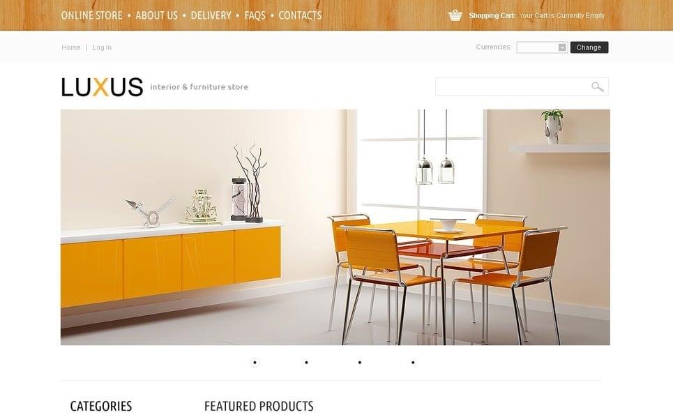 VirtueMart Template over Interieur & Meubels New Screenshots BIG