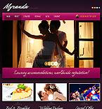 Hotels Drupal  Template 43085
